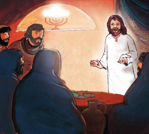 Jezus laat zich zien © Roel Ottow