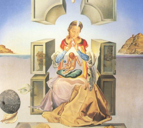 Salvador Dalí, 'The Madonna of Port Lligat', 1949 © © Fundació Gala – Salvador Dalí