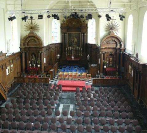 De Sint-Eligiuskerk van Maarke-Kerkem (Maarkedal) werd omgebouwd tot cultuurcentrum Marca. © Website Maarkedal