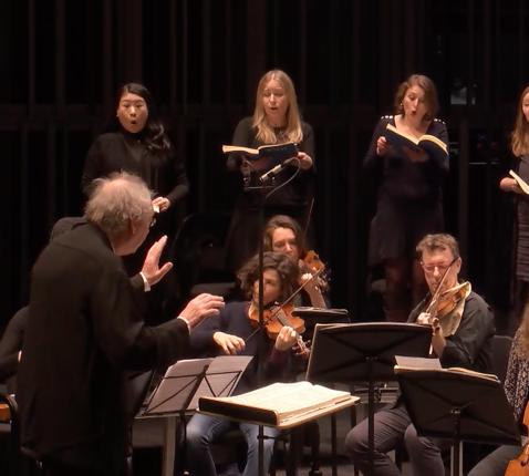 Het Collegium Vocale Gent o.l.v. Philippe Herreweghe. © Collegium Vocale