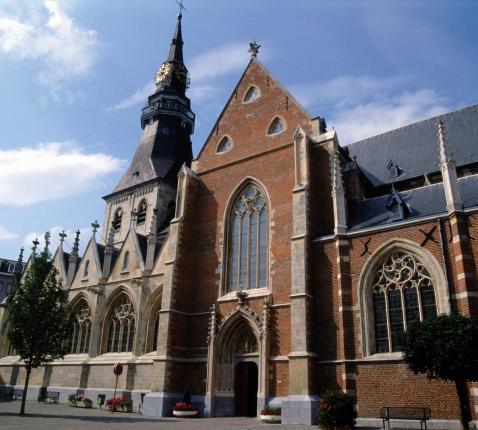 De Sint-Quintinuskathedraal van Hasselt © Stad Hasselt