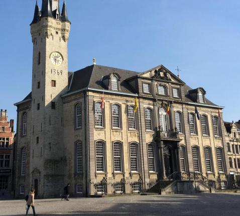 Stadhuis en belfort Lier