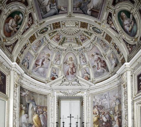 De Sint-Pieterkapel van de Vaticaanse Musea © Vaticaanse Musea