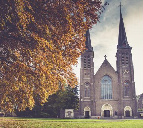 Basiliek Oostakker-Lourdes © Bisdom Gent, foto: Daina De Saedeleer