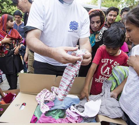 Vluchtelingen © NataliaTsoukala/Caritas Internationalis