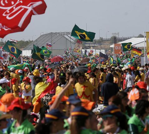 Wereldjongerendagen in Rio © SIR