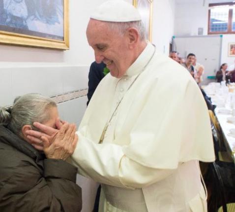 Paus Franciscus vraagt solidariteit met mensen in nood © Osservatore Romano/Vatican Media