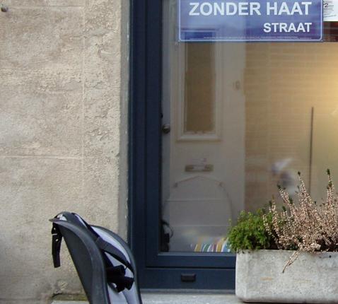 Straat zonder haat © Anne Vandenhoeck