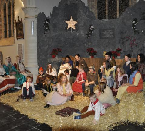 Kerstviering Slijpe 2019 © Johan Sys