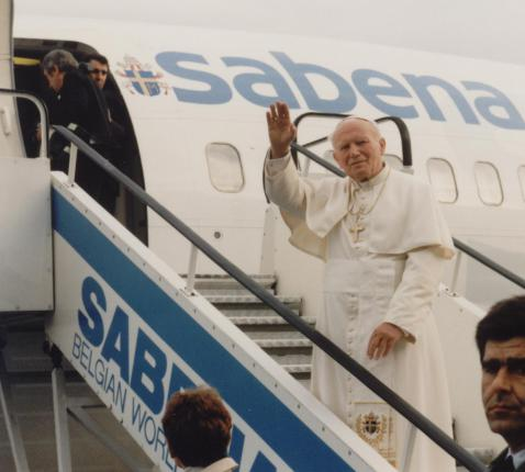 Paus Johannes Paulus II © IPID/Kerknet