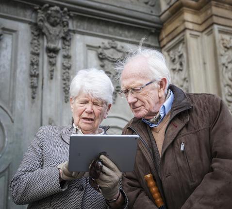 De bezoekers hebben sinds kort een digitale gids voor de musea en monumenten in Antwerpen © Ans Brys/Stad Antwerpen