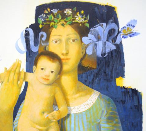 Maria volgens de kunstenaar Arcabas © Arcabas/Philippe Keulemans