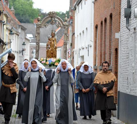 processie © brugse belofte