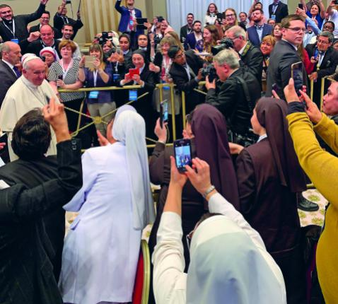 Paus Franciscus © Bart Willemen