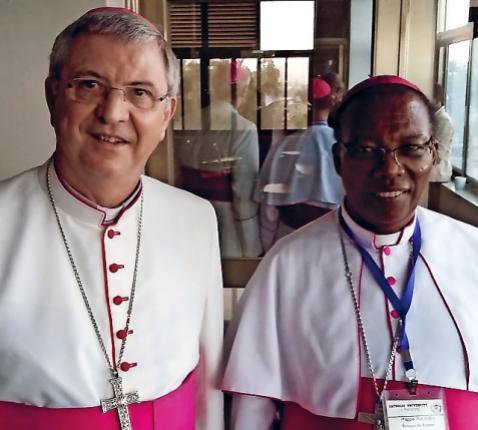 de bisschop in Rwanda © mgr. Johan Bonny