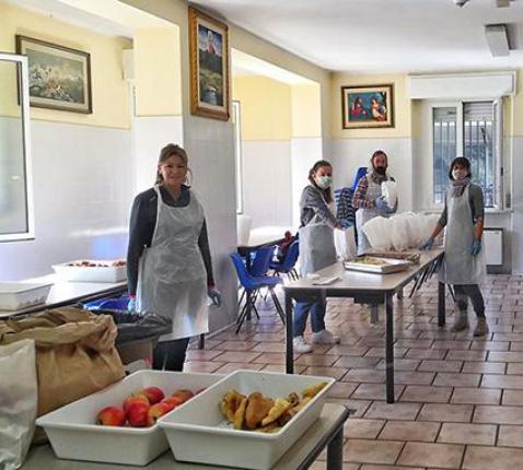 Hulpverlening van Caritas in Rimini © Caritas Italië