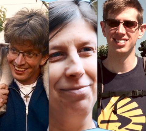Van links: Lode Vandeputte, Ria Dereymaeker en Niels Den Tandt. © Kerknet