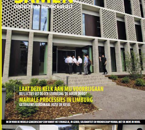 Cover Samen juli-augustus 2021 © bisdom Hasselt