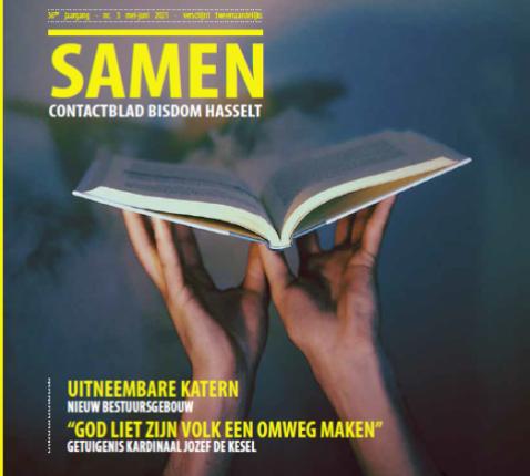 Cover Samen mei-juni 2021 © bisdom Hasselt
