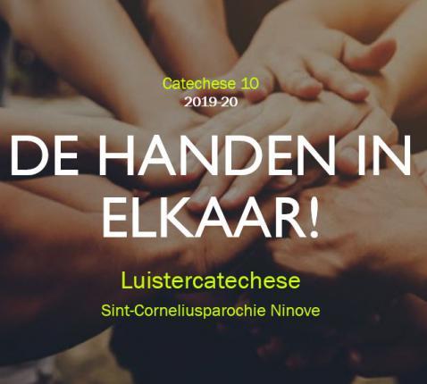 De handen in elkaar! © Tim Van Nieuwenhove