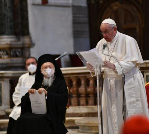 Paus Franciscus maande aan tot broederlijkheid © Sant'Egidio