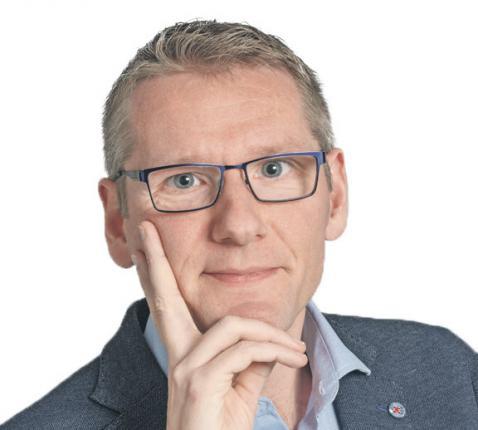 Emmanuel Van Lierde, hoofdredacteur Tertio © Ilse Prinsen