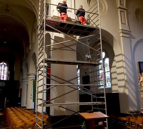 ledverlichting in onze kerk