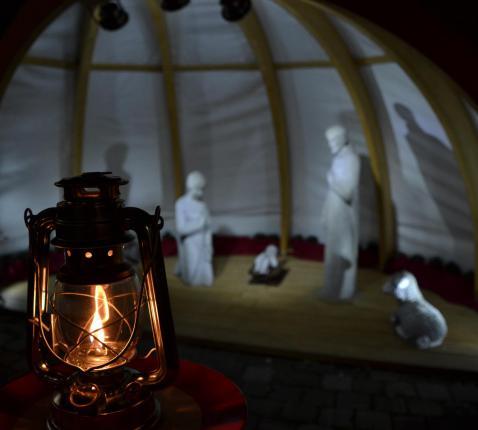 Licht van Bethlehem © parochie Onze-Lieve-Vrouw Lichtaart