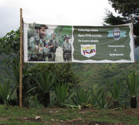 Transitiekamp van de FARC in Cauca © Broederlijk Delen/Wies Willems