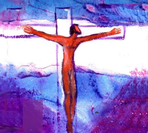 hoopvol kruis banner