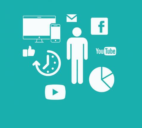 Kerknet in cijfers [infografiek] © Iconen Facebook, YouTube, The Noun Project: Dmitrij, Adrien Coquet, Wayne Middleton, Aham Brahma, AliWijaya, arjuazka, Anil