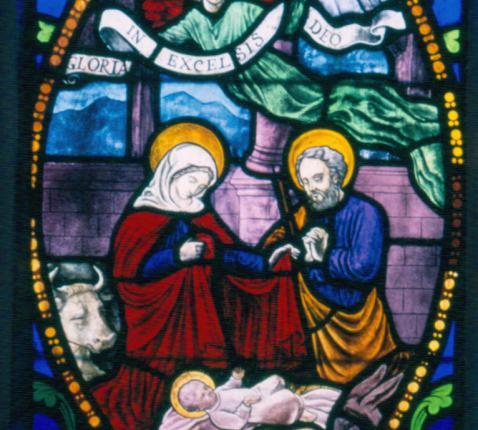 kerststal © parochie Onze-Lieve-Vrouw Lichtaart