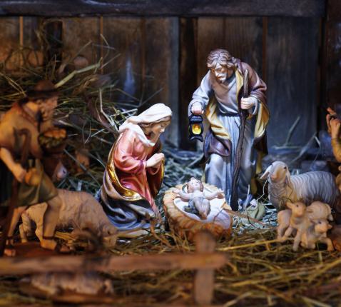 Kerststal © Istock
