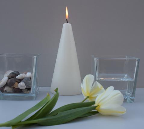 Kijktafel op een doopfeest © Sylvie De Ruyck