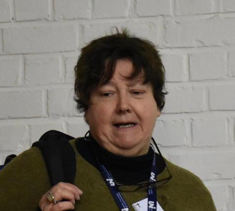 Christine Van Vlierden als 'Sam-En' in de initiatiecatechese © PE Kleopas/kc