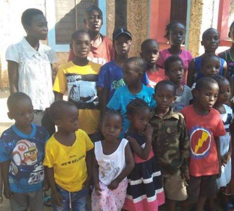 kinderen in Matandale