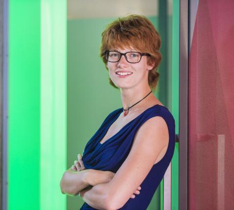 Annelien Boone, directeur van IJD Jongerenpastoraal Vlaanderen © Frank Bahnmüller