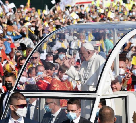 Paus Franciscus © Vaticaan Media