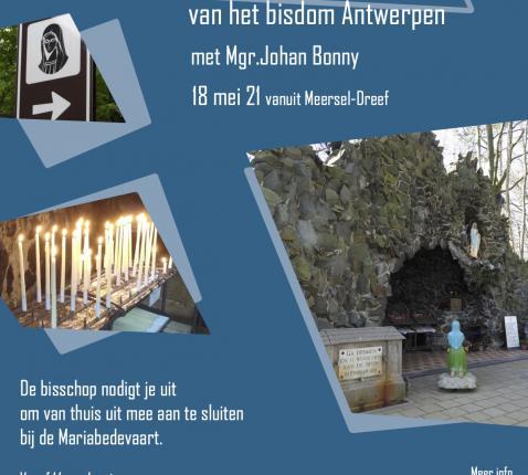 Meibedevaart © Bisdom Antwerpen