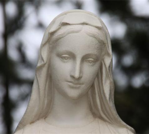 beeld Moeder Maria