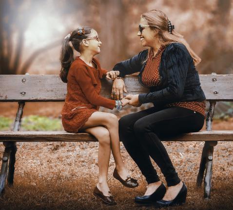 'Er is bijna niemand die zich niet af en toe aan zijn of haar moeder ergert of heeft geërgerd.' © Pixabay