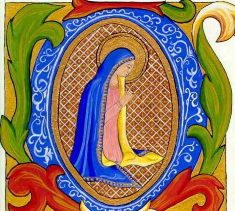 O Emmanuel, verwachting der volkeren en hun Verlosser.  Kom nu en red ons, Heer, onze God.