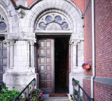 Portaal van de Heilig-Hartkerk