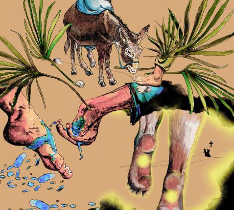Volg de gids van Palmzondag tot Pasen. © Tynke van Schaik