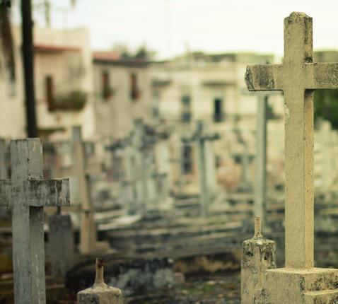 'Ik mis je' praat op begraafplaatsen met nabestaanden. © CC Pexels
