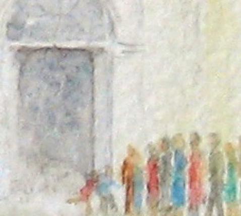 kinderen aan de poort © Rudi Thomassen