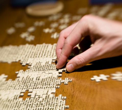puzzel © RR