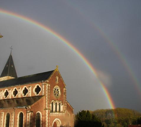 regenboogkerk © johan van der vloet