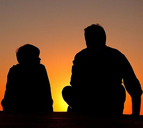 Vader en zoon © Pixabay