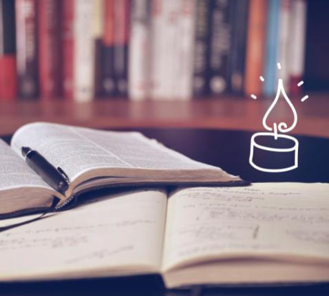 Kaarsje van IJD voor studenten © IJD Gent